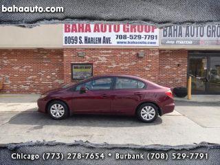 Used 2012 Honda Civic LX in Burbank, Illinois