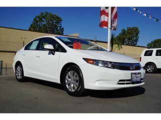 Used 2012 Honda Civic LX in Corona, California