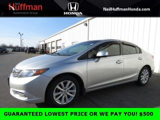 Used 2012 Honda Civic EX in Clarksville, Indiana