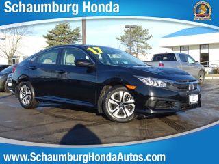 Used 2017 Honda Civic LX in Schaumburg, Illinois