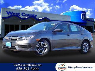 New 2018 Honda Civic LX in Ellisville, Missouri