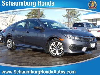 Used 2017 Honda Civic LX in Schaumburg, Illinois
