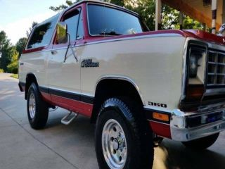 1985 Dodge Ramcharger 100