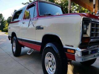 1985 Dodge Ramcharger 100