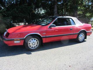 Chrysler LeBaron Premium 1988