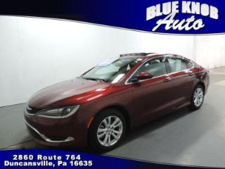 Used 2015 Chrysler 200 Limited in Duncansville, Pennsylvania