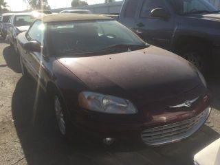 Chrysler Sebring LXi 2002