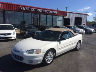Used 2002 Chrysler Sebring GTC in Harrison, Arkansas