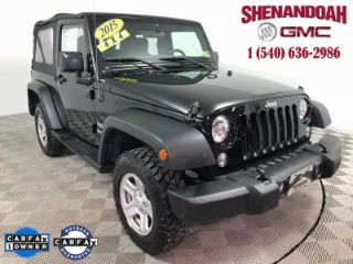 Used 2015 Jeep Wrangler Sport in Front Royal, Virginia