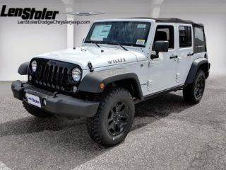 Jeep Wrangler Willys Wheeler 2018