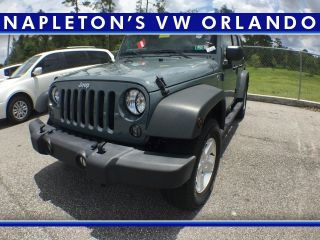 Used 2015 Jeep Wrangler in Orlando, Florida