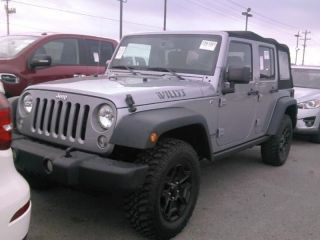 Jeep Wrangler Willys Wheeler 2015