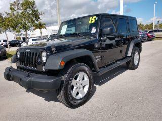 Used 2015 Jeep Wrangler Sport in Fort Pierce, Florida