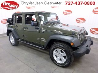 Used 2015 Jeep Wrangler Sport in Clearwater, Florida