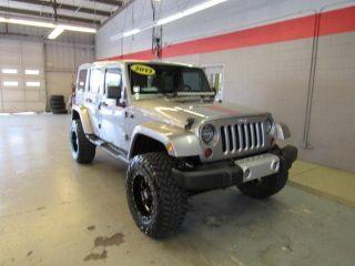 Jeep Wrangler Sahara 2013