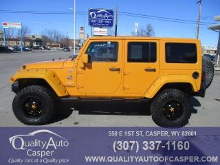 Used 2012 Jeep Wrangler Sahara in Casper, Wyoming