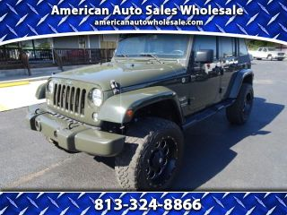 Used 2015 Jeep Wrangler Sahara in Seffner, Florida