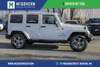 Used 2018 Jeep Wrangler Sahara in Newton, Massachusetts