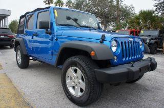 Used 2015 Jeep Wrangler Sport in Melbourne, Florida