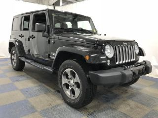 Used 2017 Jeep Wrangler Sahara in Framingham, Massachusetts