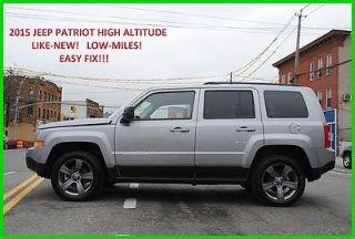 Jeep Patriot High Altitude Edition 2015