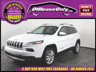 Used 2017 Jeep Cherokee Limited Edition in Miami, Florida