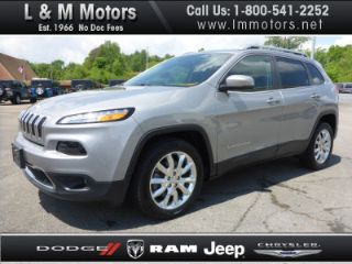 Used 2015 Jeep Cherokee Limited Edition in Athens, Tennessee