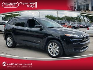Used 2015 Jeep Cherokee Limited Edition in Tampa, Florida