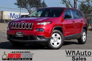 Used 2015 Jeep Cherokee Sport in Van Nuys, California
