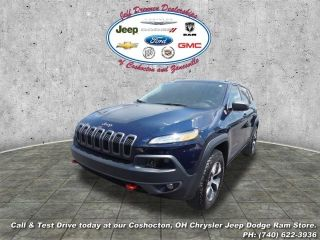 Used 2015 Jeep Cherokee Trailhawk in Youngstown, Ohio