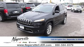Used 2015 Jeep Cherokee Limited Edition in Naperville, Illinois
