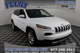 Used 2016 Jeep Cherokee Limited Edition in Midland, Michigan