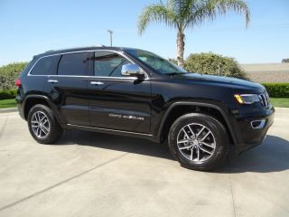 Used 2018 Jeep Grand Cherokee Limited Edition in Hanford, California