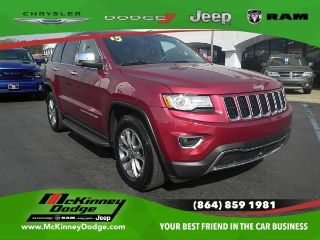Used 2015 Jeep Grand Cherokee Limited Edition in Easley, South Carolina