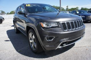 Used 2015 Jeep Grand Cherokee Overland in Melbourne, Florida