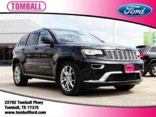 Used 2015 Jeep Grand Cherokee Summit in Tomball, Texas