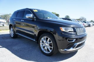 Used 2015 Jeep Grand Cherokee Summit in Melbourne, Florida