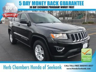 Used 2015 Jeep Grand Cherokee Laredo in Seekonk, Massachusetts