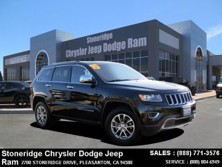 Used 2015 Jeep Grand Cherokee Limited Edition in San Jose, California