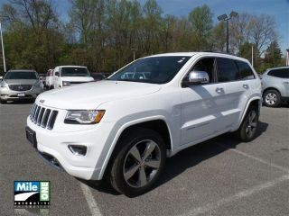 Used 2015 Jeep Grand Cherokee Overland in Owings Mills, Maryland