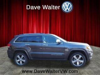 Dave Walter VW >> Used 2015 Jeep Grand Cherokee Overland In Akron Ohio