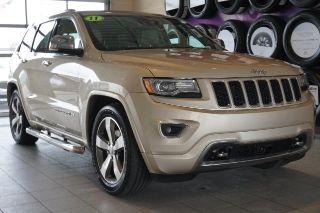 Jeep Grand Cherokee Overland 2014