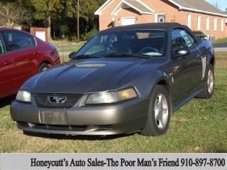 Used 2001 Ford Mustang in Coats, North Carolina