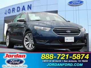 Jordan Ford San Antonio >> Used 2017 Ford Taurus Limited Edition In San Antonio Texas