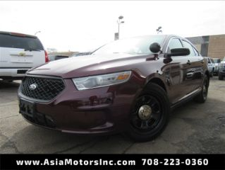 Ford Taurus Police Interceptor 2013