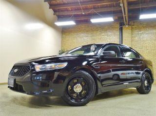 Ford Taurus Police Interceptor 2014