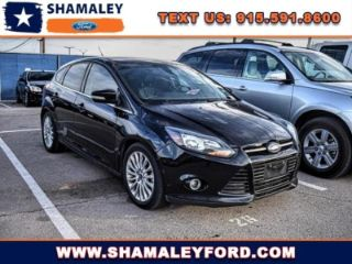 Used 2012 Ford Focus Titanium in El Paso, Texas