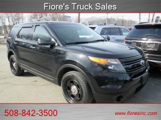 Ford Explorer Police Interceptor 2013