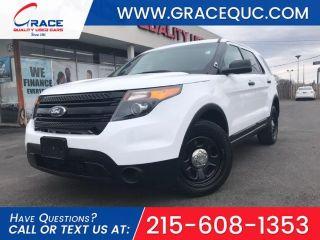 Ford Explorer Police Interceptor 2013