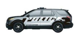 Ford Explorer Police Interceptor 2015